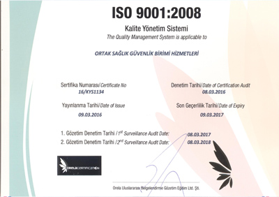 ISO 9001 001